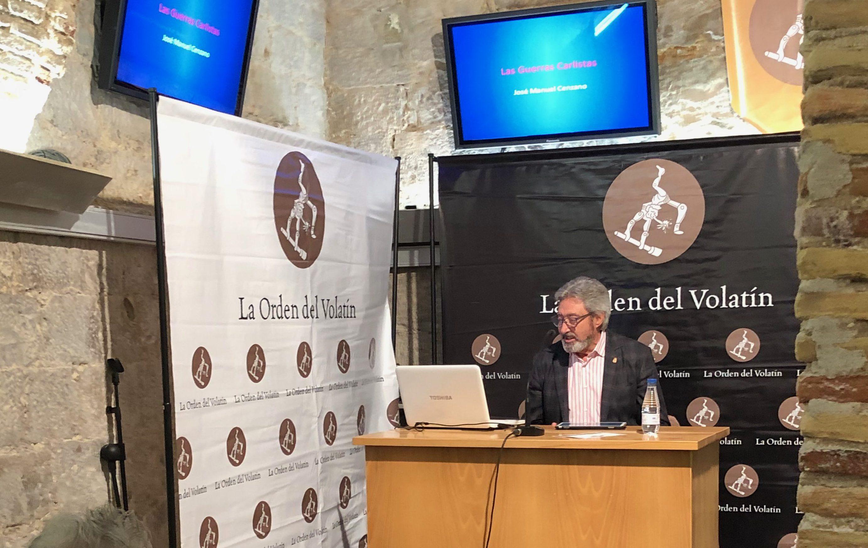 Reanudamos el Ciclo Cultural «Amigos del Volatín