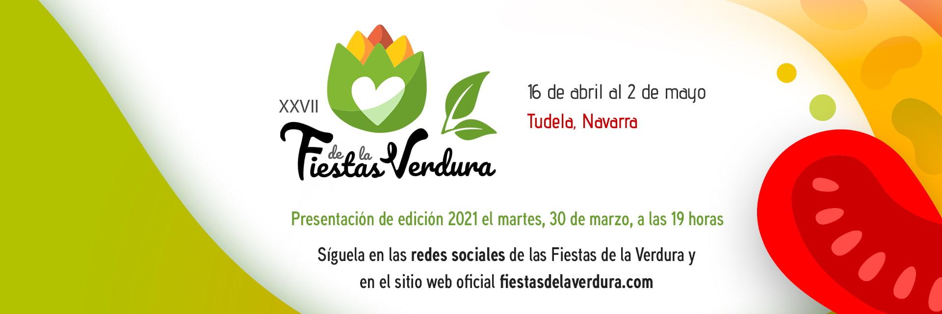 Presentación Fiestas de la Verdura 2021